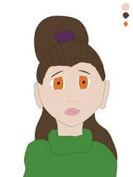 Girl Portrait 01c by HardWearJunkie