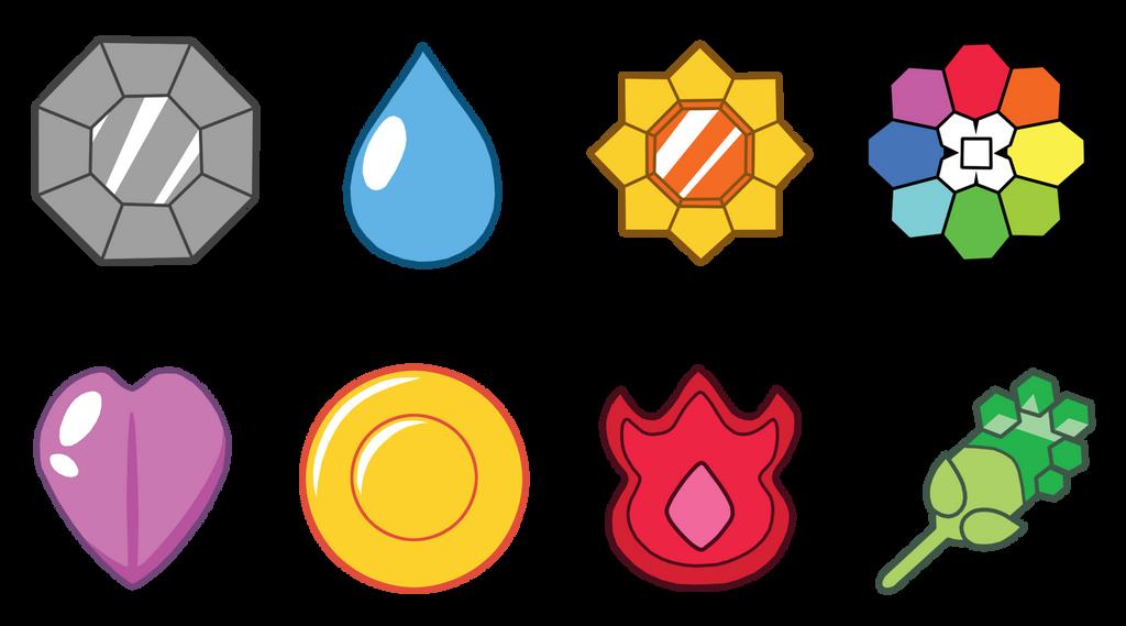 Resultado de imagen de medallas de kanto png