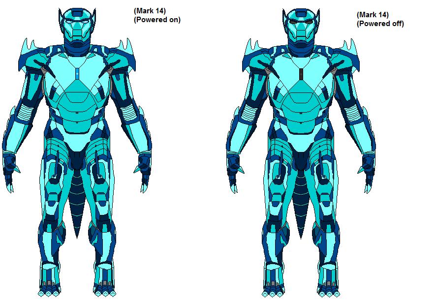 Lycanezium Solar Flare Armor Aka Mark 14 By Trdrt On