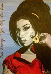 Amy Winehouse - take Courage by maryanneakacharity