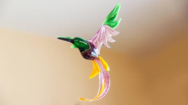 Glass Kolibri