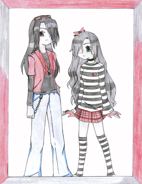 EMO girls XD by Delta-Frontier