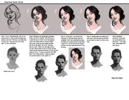 Timed head sketch steps by FUNKYMONKEY1945