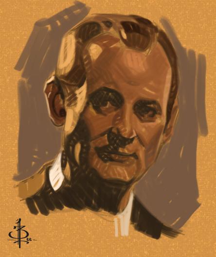 Timed head sketch29 by FUNKYMONKEY1945