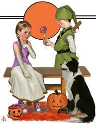 Halloween Candy by FUNKYMONKEY1945