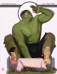 Hulk Tea Time