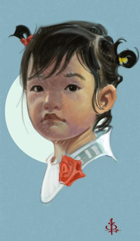 Timed Head Sketch 334 by FUNKYMONKEY1945
