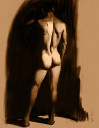 1 hour Scummble Figure Study by FUNKYMONKEY1945