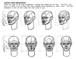 Some Head Breakdown Variants by FUNKYMONKEY1945