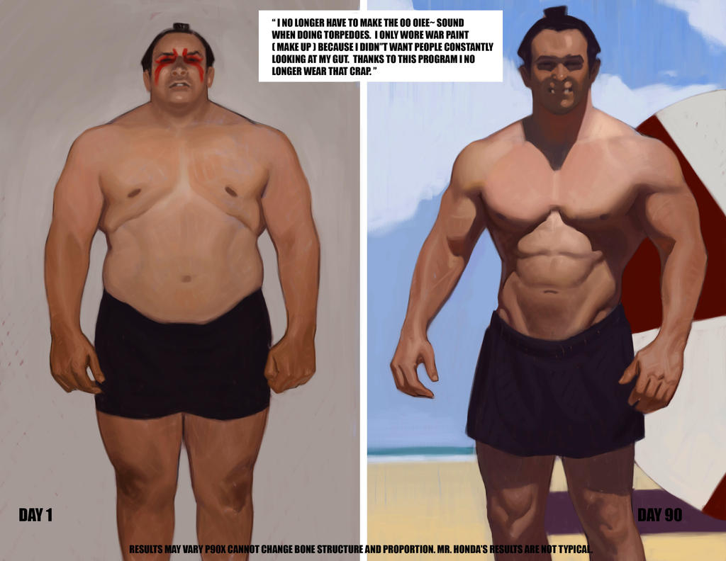 Before and after Workout WIP 3 by FUNKYMONKEY1945 on