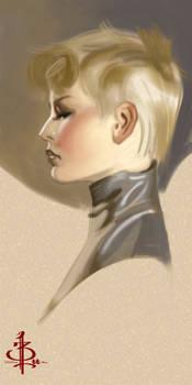 timed head sketch 899