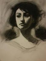 Ms Chameleon Sketch by FUNKYMONKEY1945