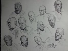 TV Sketching 1 by FUNKYMONKEY1945
