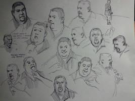TV Sketching 2 by FUNKYMONKEY1945