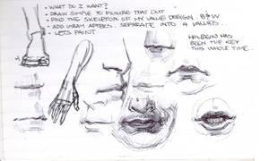 3 by 5 sketchbook page 25 by FUNKYMONKEY1945