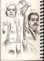 various studies 18 by FUNKYMONKEY1945