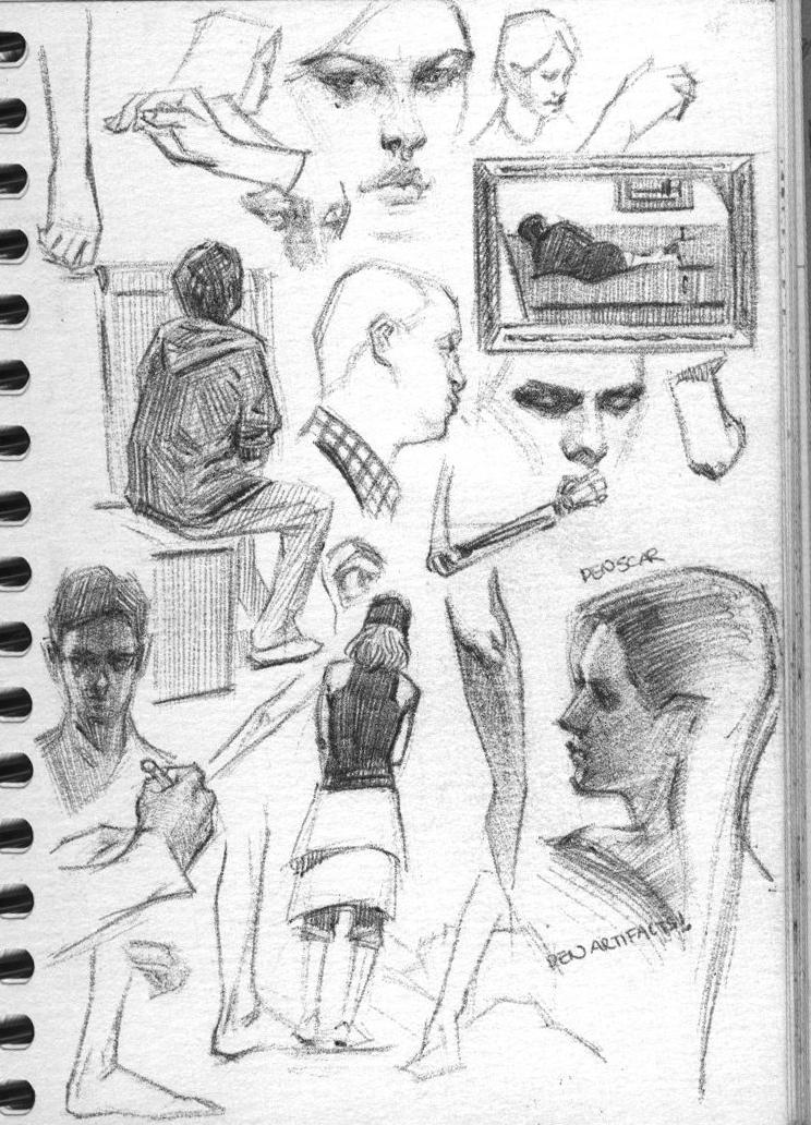 various studies3 by FUNKYMONKEY1945