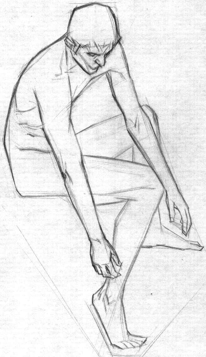 full figure lay in 079 by FUNKYMONKEY1945