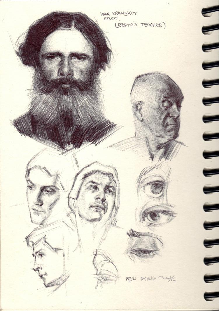 Various Studies38 by FUNKYMONKEY1945