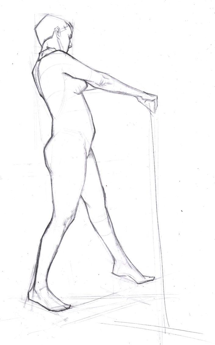 Full Figure Lay In _ 103 by FUNKYMONKEY1945
