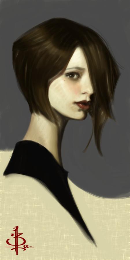 timed head sketch 1034 by FUNKYMONKEY1945