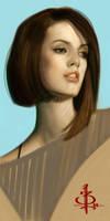 timed head sketch 1035