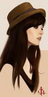 timed head sketch 1067