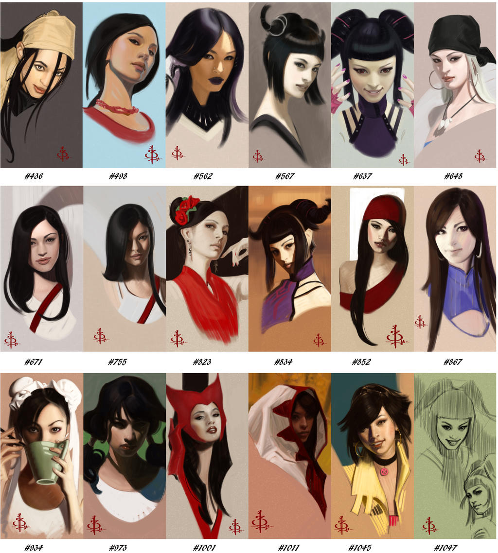 The Many faces of Ms  Style Chameleon by FUNKYMONKEY1945 on