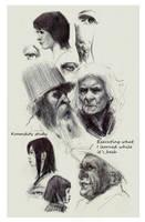 Sample Page for Kickstarter Sketchbook15 by FUNKYMONKEY1945