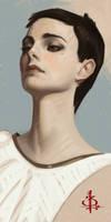 timed head sketch 1115