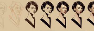 timed head sketch 1144 steps