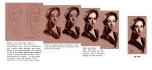 timed head sketch 1143 steps