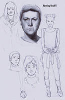 Sketches/studies by FUNKYMONKEY1945