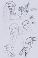 Bic pen drawings by FUNKYMONKEY1945
