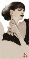 timed head sketch 1307