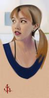 timed head sketch 1319