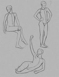 Drawing Erica.  Female Eric :) by FUNKYMONKEY1945