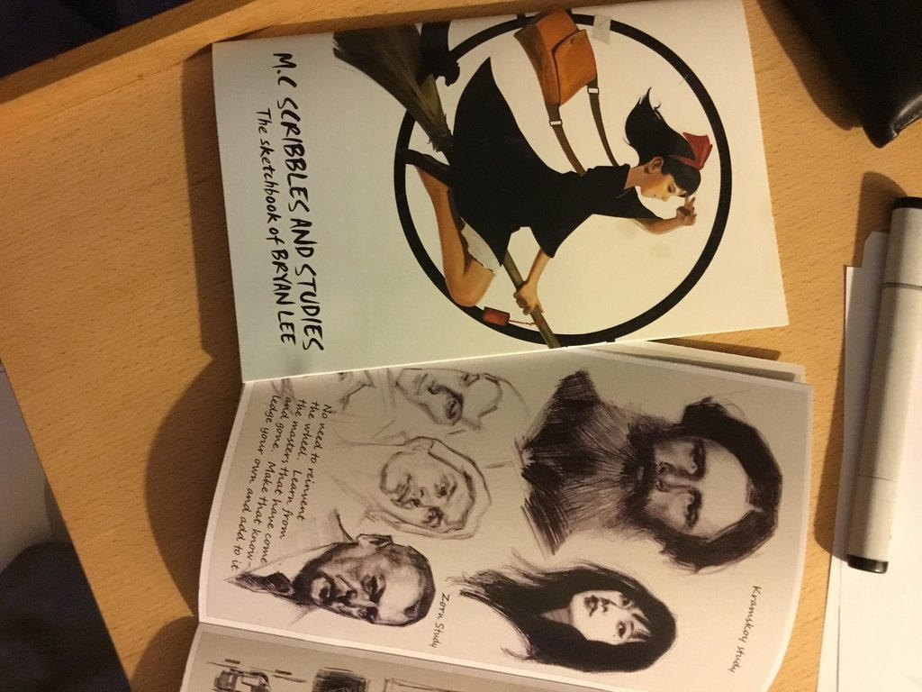 Mc Scribbles sketchbook by FUNKYMONKEY1945