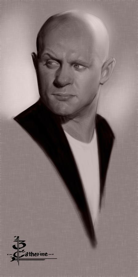 Head Sketch 1573 by FUNKYMONKEY1945