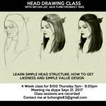 Head Drawing Class