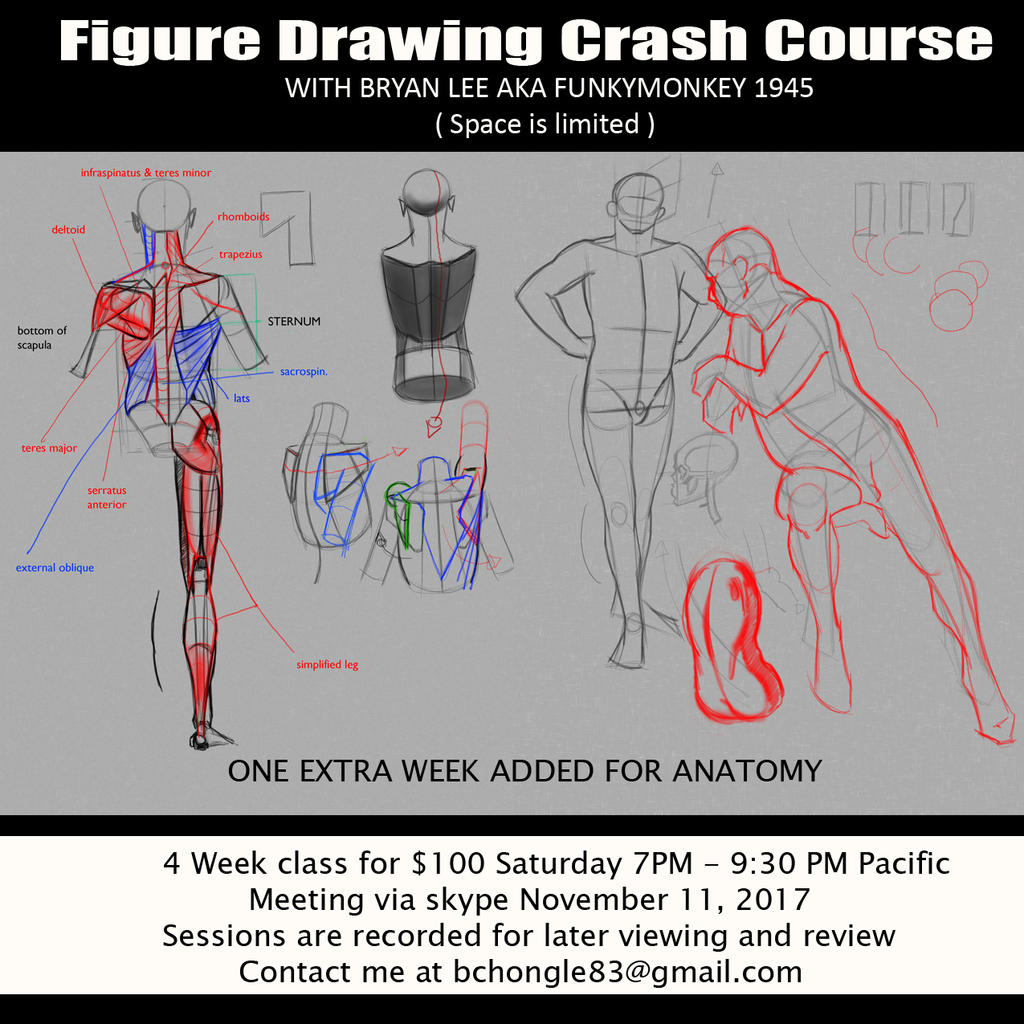 Figure Crash Course Flyer by FUNKYMONKEY1945 on DeviantArt