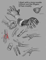 Hand demo by FUNKYMONKEY1945