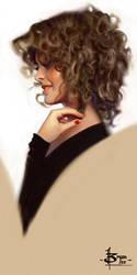 Head sketch 1626 by FUNKYMONKEY1945