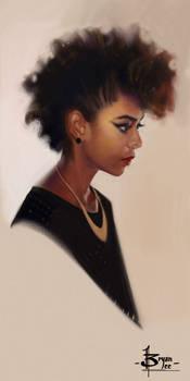 Head sketch 1635