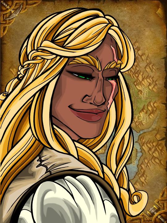 Milanda Portrait by XRed-EyeX