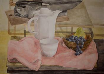 Afternoon tea by AenagGaz