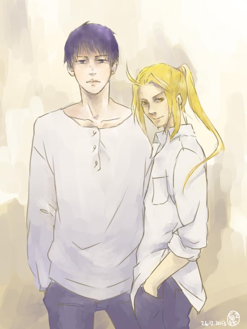 Roy and Ed by kwun-kwun
