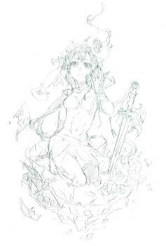Fantasy Girl (WIP)