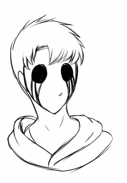 Eyeless Jack - Free Coloring Pages