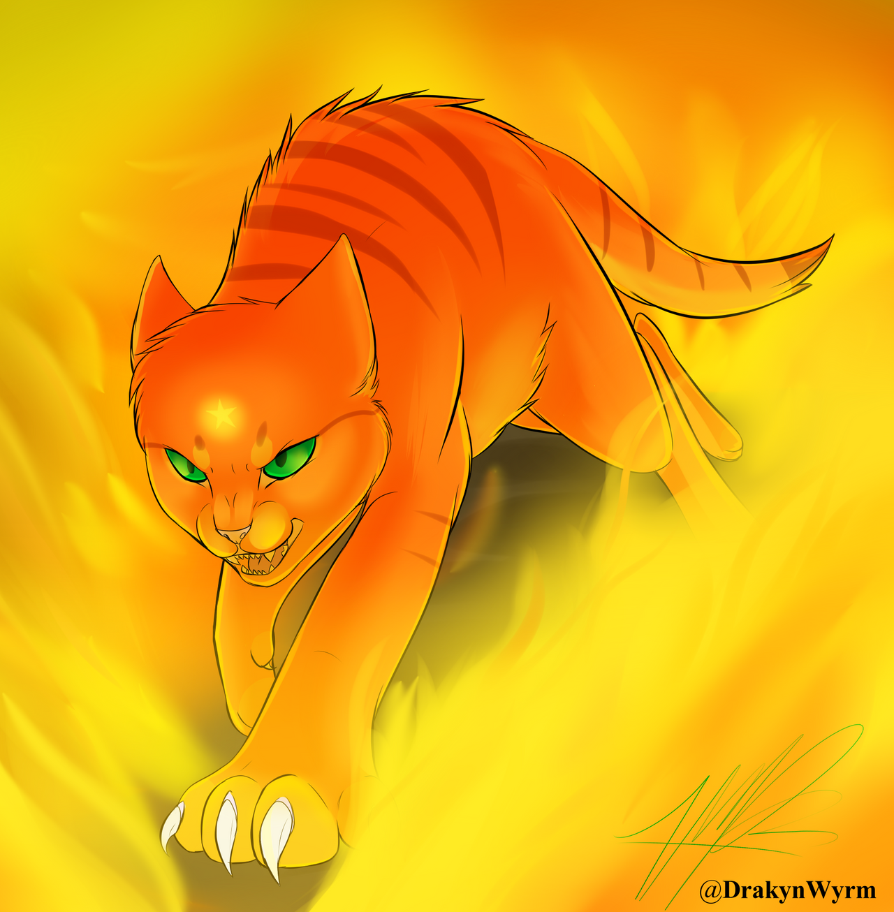 Warrior Cats Wallpaper Firestar Download